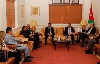 Jordanian Prime Minister meeting